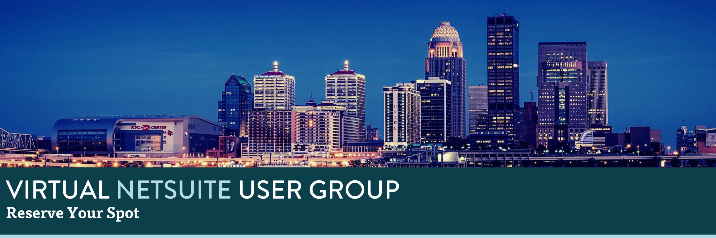Virtual NetSuite User Group